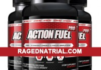 Action Fuel Pro Supplement bottle