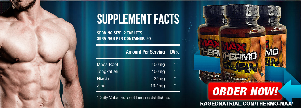 Ingredients of Thermo Max supplement
