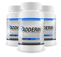 Adderin bottle
