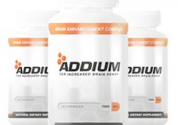 Addium Brain Supplement bottle