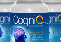 CogniQ Brain supplement bottle