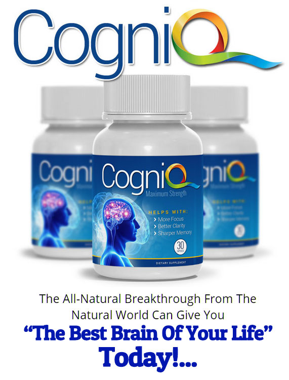 buy CogniQ Brain supplement
