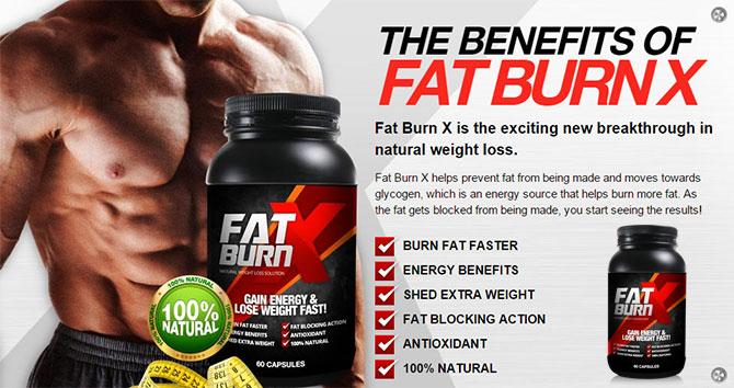 benefits fat burn x