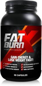 fat burn x bottle