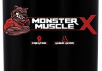 monster muscle x bottle