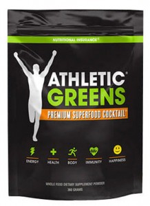 Athletic Greens bottle