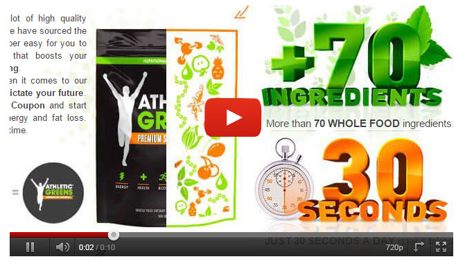 Athletic Greens video