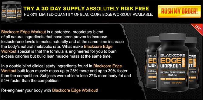 Blackcore Edge testo booster