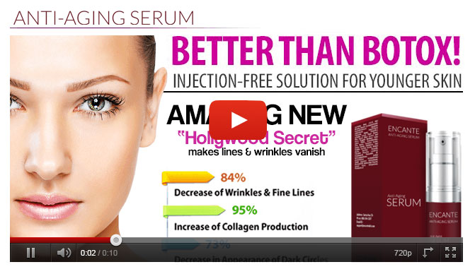 encante serum video