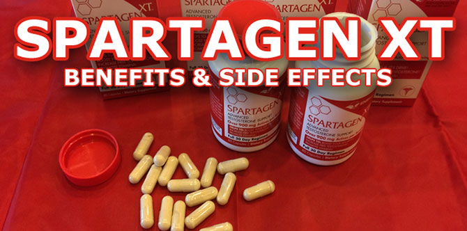 spartagen XT benefits side effects