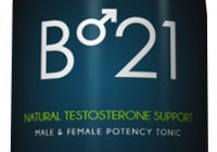 B21 Testosterone booster bottle