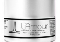 Lamour skin cream bottle