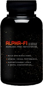 alpha f1 supplement bottle