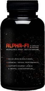 alpha f1 supplement bottle