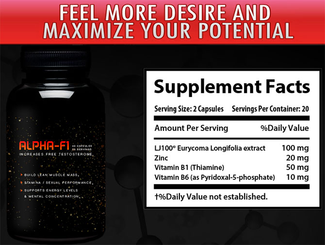 alpha f1 supplement facts