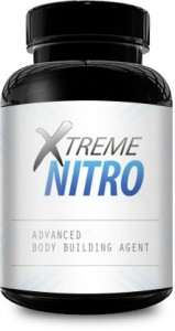 xtreme nitro supplement bottle