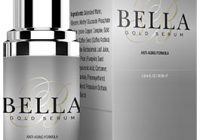 bella gold serum bottle