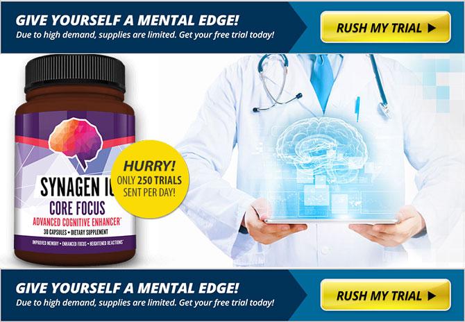 synagen iq brain supplement free trial