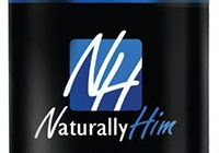 naturally him supplement bottle