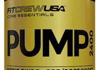 pump 2400 supplement bottle