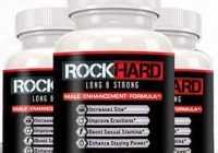 rock hard supplement bottle