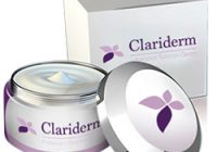 clariderm cream bottle