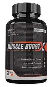 muscle boost x bottle