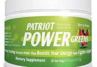 patriot power greens bottle