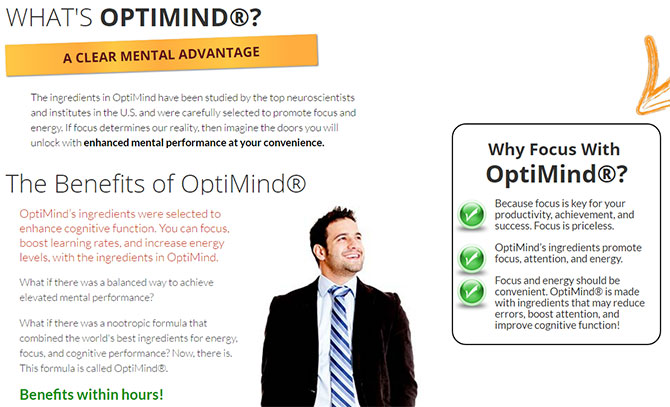 optimind supplement benefits