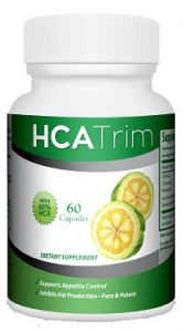 hca trim garcinia cambogia bottle