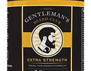gentleman's beard club bottle