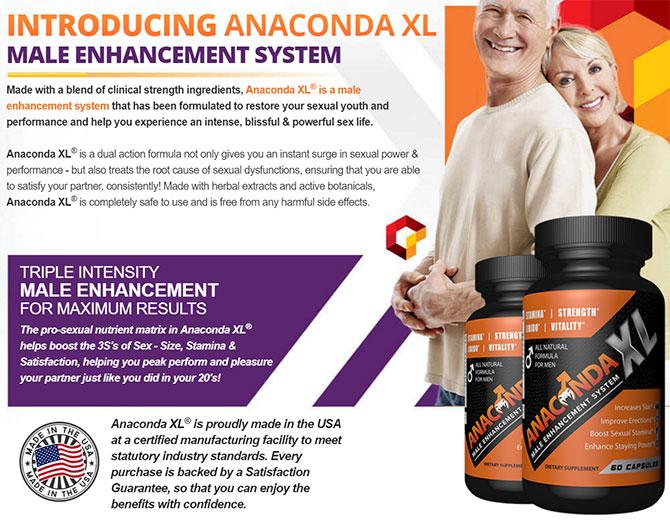 anaconda xl supplement