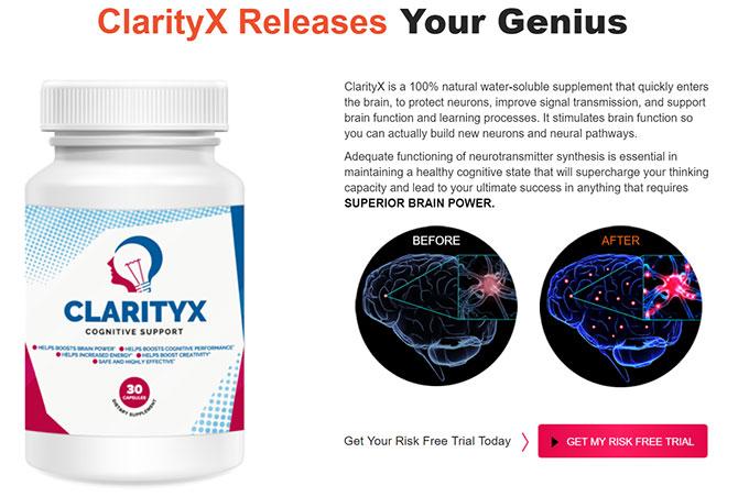 clariy x brain supplement